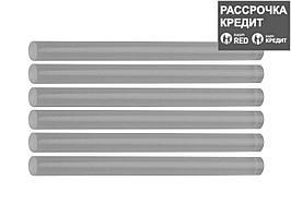 STAYER Universal прозрачные универсальные клеевые стержни, d 7 мм х 100 мм 6 шт. 25 г. (2-06817-T-S06)
