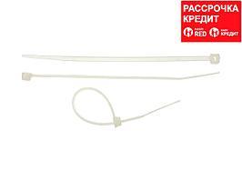 Хомуты-стяжки белые, 2.5 х 100 мм, 100 шт, нейлоновые, STAYER Professional (3785-10)