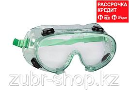 STAYER PROFI ударопрочные очки защитные с непрямой вентиляцией, закрытого типа. (2-11026)