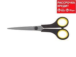 """Ножницы STAYER """"MASTER"""" хозяйственные, двухкомпонентные ручки, 175мм (40465-18)"""