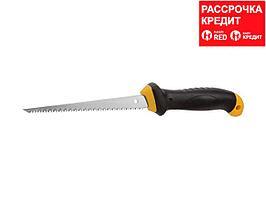 STAYER Profi 160 мм выкружная ножовка по гипсокартону (15173_z01)