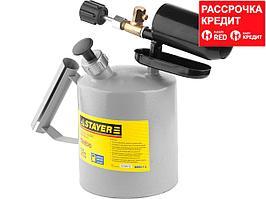 """Лампа STAYER """"PROFI"""" паяльная, стальная, 1,5л (40655-1.5)"""
