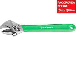 Ключ разводной, 300 / 35 мм, URAGAN (27243-30)