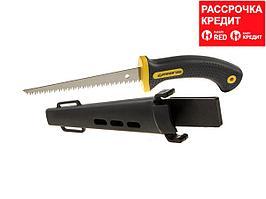 STAYER Profi 160 мм выкружная мини-ножовка по гипсокартону в ножнах (2-15170)