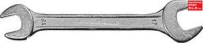 Рожковый гаечный ключ 13 x 17 мм, СИБИН (27014-13-17)