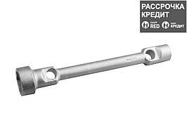 Ключ торцовый СИБИН двухсторонний, оцинкованный, /ЗИЛ/ГАЗ/, 22х38мм, 2718-22-38