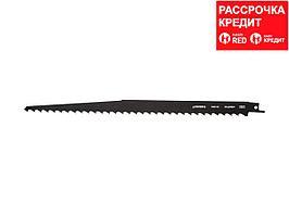 """Полотно STAYER """"PROFI"""" S617K для сабельной эл. ножовки Cr-V,быстрый грубый рез, для обрезки деревьев, заготовки дров (159457-8.5)"""