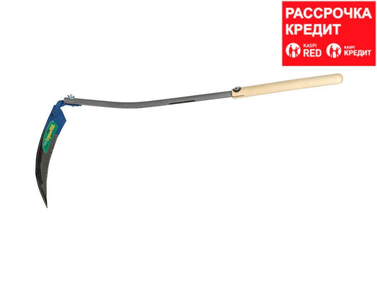Коса-СерпанЧик с металлическим черенком, 81 см (39811)