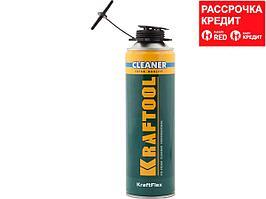 Очиститель монтажной пены KRAFTOOL 41189_z01, KRAFTFLEX PREMIUM CLEANER, 500 мл