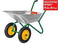 GRINDA GB-2 тачка садовая двухколесная, 120 кг (422400_z01)