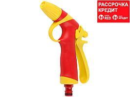 GRINDA T-RC, плавная регулировка, курок сзади, пистолет поливочный, пластиковый с TPR (8-427181_z01)