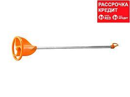 "Миксер STAYER пластмассовый, для красок, тип ""турбина"", 8мм (06043-08-40)"