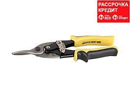 STAYER Прямые ножницы по металлу, 250 мм (23055-S)