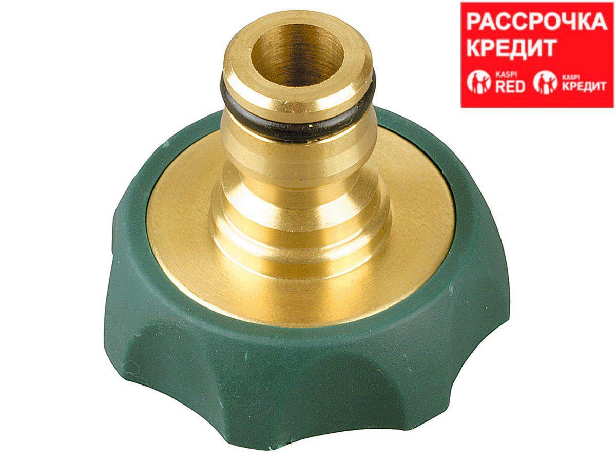 """RACO """"PROFI-PLUS"""" 3/4"""", адаптер штуцерный, с внутренней резьбой, из латуни с TPR (4244-55112B)"""
