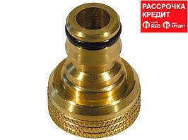 """RACO PROFI 3/4"""", с внутренней резьбой, адаптер штуцерный, из латуни (4246-55012B)"""