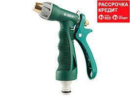 RACO 350C плавная регулировка, курок сзади, пистолет поливочный металлический с TPR (4255-55/350C-30)