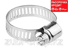 Хомуты стальные оцинкованные, 18-25 мм, 5шт, STAYER (3780-18-25_z01)