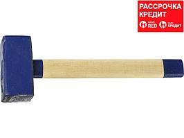СИБИН 3 кг кувалда с деревянной удлинённой рукояткой (20133-3)