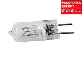 Лампа галогенная, СВЕТОЗАР, капсульная, прозрачное стекло, цоколь GY6.35, диаметр 13мм, 50Вт, 220В, SV-44885-T