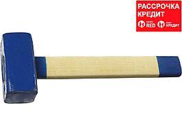 СИБИН 4 кг кувалда с деревянной удлинённой рукояткой (20133-4)