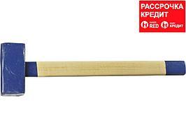 СИБИН 6 кг кувалда с деревянной удлинённой рукояткой (20133-6)