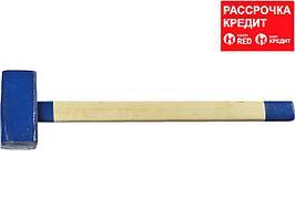 СИБИН 8 кг кувалда с деревянной удлинённой рукояткой (20133-8)