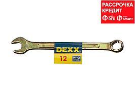 Комбинированный гаечный ключ 12 мм, DEXX (27017-12)