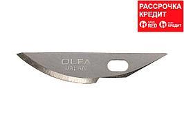 Лезвия OLFA закругленные для ножа AK-4, 6(8)х38х0,45мм, 5шт (OL-KB4-R/5)