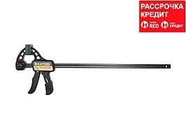 """Струбцина """"EcoKraft"""" ручная пистолетная, KRAFTOOL 32226-45, пластиковый корпус, 450/650мм, 150кгс (32226-45)"""
