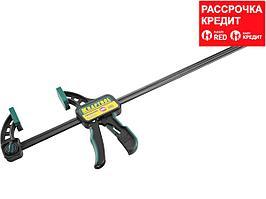 """Струбцина """"EcoKraft"""" ручная пистолетная, KRAFTOOL 32226-60, пластиковый корпус, 600/800мм, 150кгс (32226-60)"""