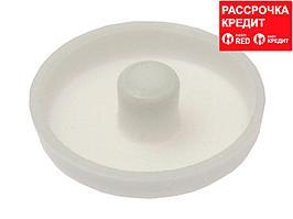 Заглушка под рамный дюбель, цвет белый, 25шт, ЗУБР (4-308136-3)