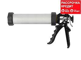 STAYER 310 мл универсальный закрытый пистолет для герметика, алюминиевый корпус, серия Professional (0673-31)