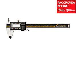 KRAFTOOL штангенциркуль электронный, металлический, 150мм (34460-150)