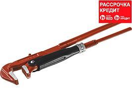 ЗУБР Мастер-90, №0, ключ трубный, прямые губки (27314-0)