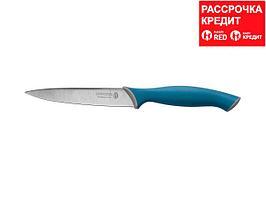 """Нож LEGIONER """"ITALICA"""" универсальный, эргономичная рукоятка, лезвие из нержавеющей стали, 125мм (47964)"""