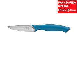 """Нож LEGIONER """"ITALICA"""" овощной, эргономичная рукоятка, лезвие из нержавеющей стали, 90мм (47965)"""