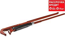 ЗУБР Мастер-90, №3, ключ трубный, прямые губки (27314-3)