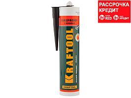 """Герметик KRAFTOOL KRAFTFLEX FR150 силикатный огнеупорный """"+1500 С"""", жаростойкий, черный, 300мл (41260-4)"""