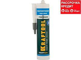 Клей монтажный KRAFTOOL KraftNails Premium KN-915, водостойкий с антисептиком, для ванн и душевых, 310мл (41345_z01)