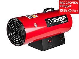 "Пушка ЗУБР ""МАСТЕР"" тепловая, газовая, 220 В, 53,0 кВт, 1450м.куб/час, 4,2кг/ч (ТПГ-53000_М2)"