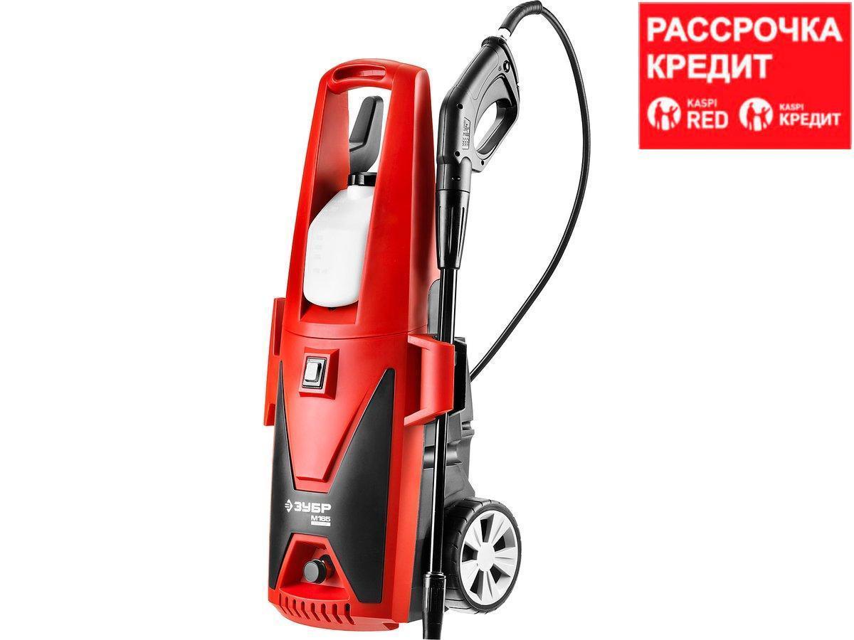Мойка высокого давления (минимойка) электр, ЗУБР АВД-165,макс. 165Атм,396л/ч,2400Вт,колеса,бачок для
