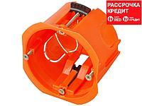 Коробка установочная СВЕТОЗАР для полых стен, макс. напряжение 400В, с пластиковыми лапками, 68х47мм (SV-54913)