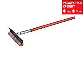 """Стеклоочиститель-скребок STAYER """"PROFI"""" с деревянной ручкой (0876)"""