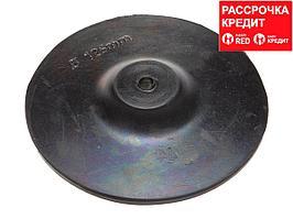 Тарелка опорная ТЕВТОН резиновая с шестигранным хвостовиком, для дрели, 125мм (3579-125)
