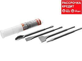 ЗУБР SDS-plus Набор зубил 250 мм, 4 шт (29230-H4)