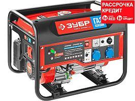 Генератор гибридный (бензин / газ), 2200 Вт, ЗУБР (ЗЭСГ-2200-М2)