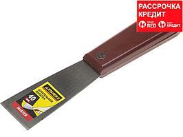 """Шпатель STAYER """"MASTER"""" c пластмассовой ручкой, 40мм (1003-040)"""