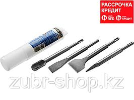 СИБИН SDS-plus Набор зубил 200 мм, 4 шт (29240-H4)