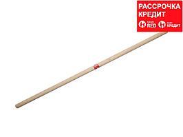 РОССИЯ черенок деревянный для снеговых лопат 1-й сорт, 32х1200мм (39439-SD)