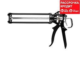 KRAFTOOL Professional усиленный cкелетный поворотный пистолет для герметика, 320 мл (06673_z01)